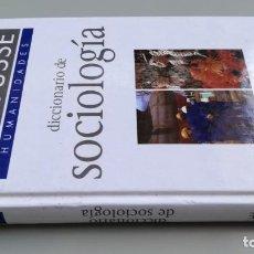 Libros de segunda mano: DICCIONARIO DE SOCIOLOGIA LARROUSE. Lote 169588780