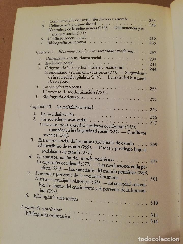 Libros de segunda mano: SOCIOLOGÍA (SALVADOR GINER) EDICIONES PENÍNSULA - Foto 4 - 170224752