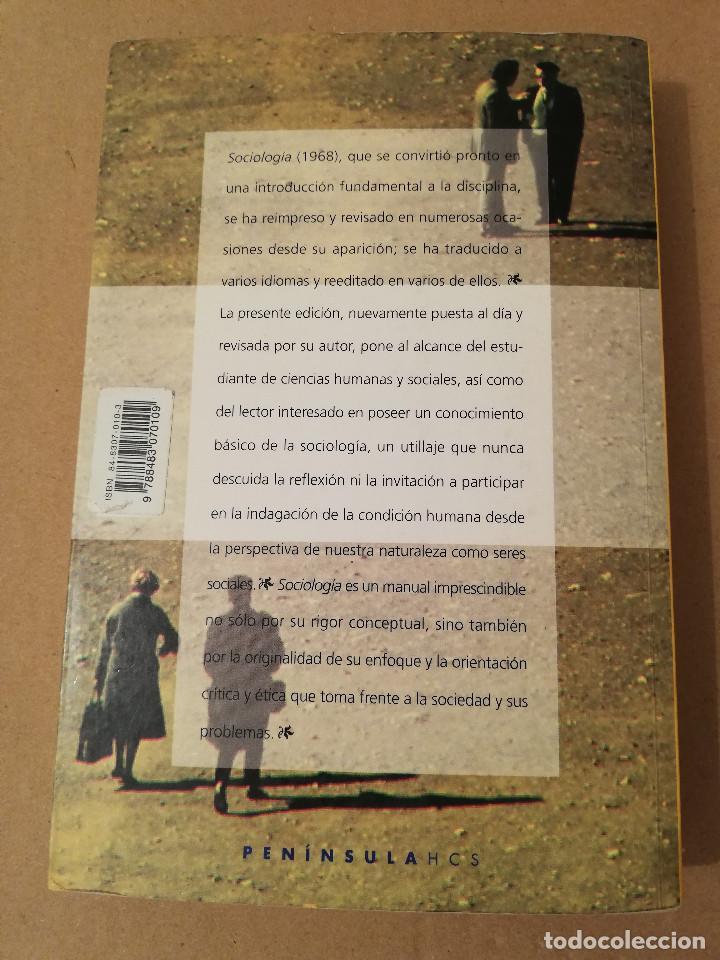 Libros de segunda mano: SOCIOLOGÍA (SALVADOR GINER) EDICIONES PENÍNSULA - Foto 7 - 170224752
