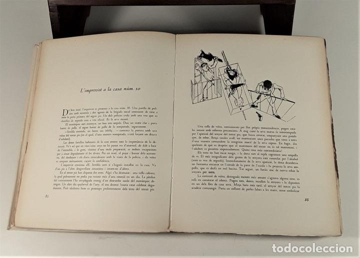 Libros de segunda mano: LHUMOR A LA BARCELONA DEL NOUCENTS. EJEM. Nº 2. EDIT. AYMÀ. BARCELONA. 1949. - Foto 7 - 171411230