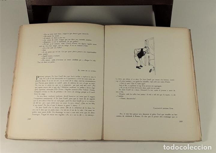 Libros de segunda mano: LHUMOR A LA BARCELONA DEL NOUCENTS. EJEM. Nº 2. EDIT. AYMÀ. BARCELONA. 1949. - Foto 8 - 171411230