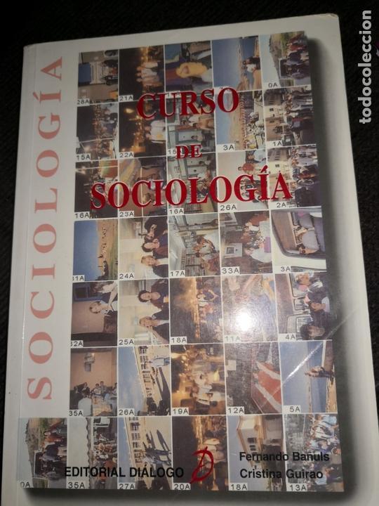 CURSO DE SOCIOLOGIA (Libros de Segunda Mano - Pensamiento - Sociología)