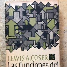 Libros de segunda mano: LAS FUNCIONES DEL CONFLICTO SOCIAL. LEWIS A. COSER. . Lote 171491460