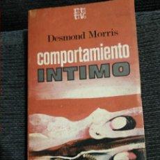 Libros de segunda mano: COMPORTAMIENTO INTIMO. Lote 171617264