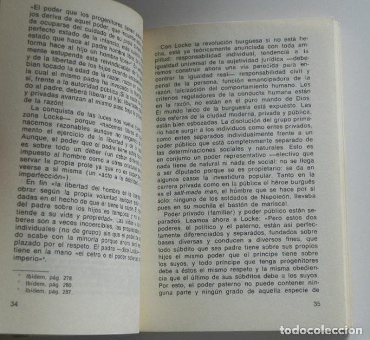 Libros de segunda mano: RELACIÓN HOMBRE MUJER EN LA SOCIEDAD BURGUESA - LIBRO UMBERTO CERRONI CAPITALISMO FAMILIA SOCIOLOGÍA - Foto 4 - 171655173
