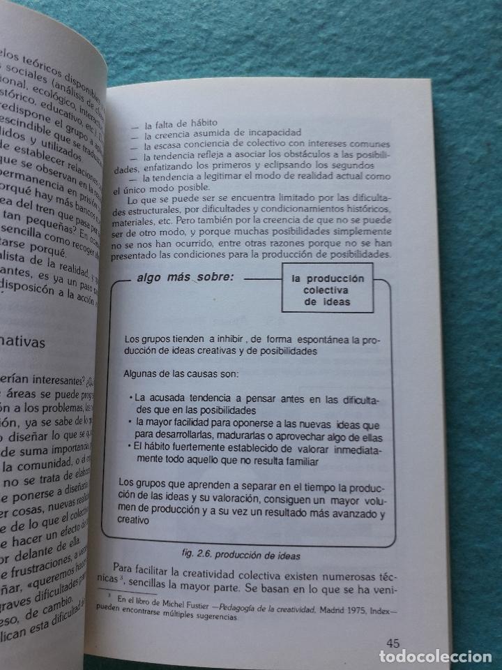 Libros de segunda mano: La Animación Sociocultural: Una Propuesta Metodológica. F. Cembranos, D. Montesinos y M Bustelo. - Foto 6 - 172845442