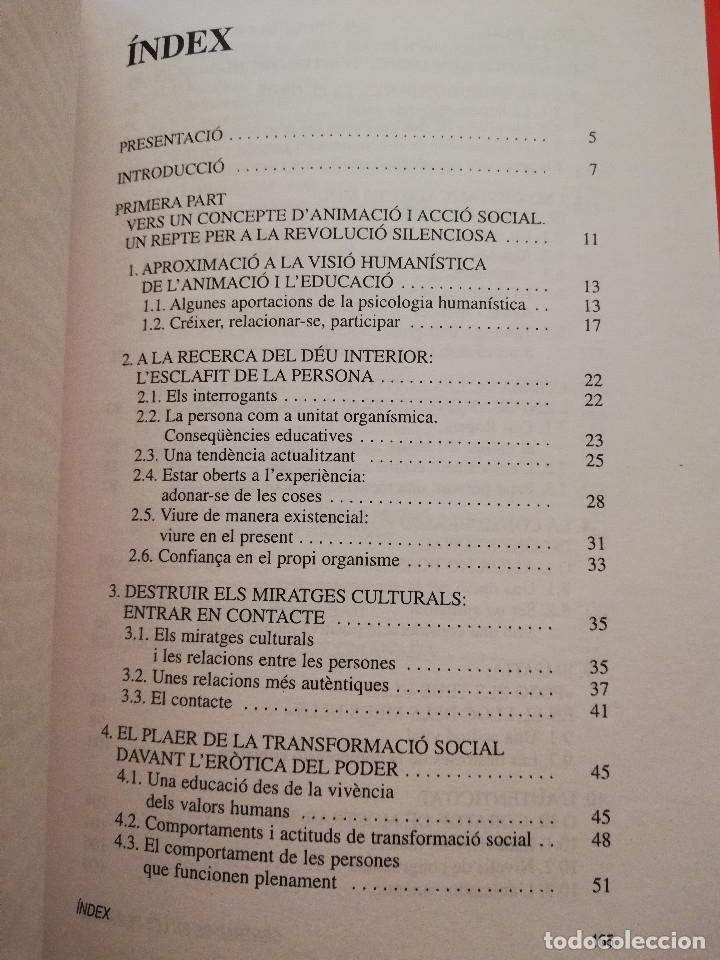 Libros de segunda mano: CENTRAR-SE EN LES PERSONES. UN MODEL TRANSFORMADOR D'INTERVENCIÓ SOCIOEDUCATIVA (B. BARCELÓ) - Foto 3 - 172891554