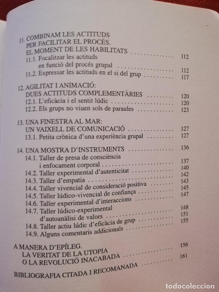 Libros de segunda mano: CENTRAR-SE EN LES PERSONES. UN MODEL TRANSFORMADOR D'INTERVENCIÓ SOCIOEDUCATIVA (B. BARCELÓ) - Foto 5 - 172891554