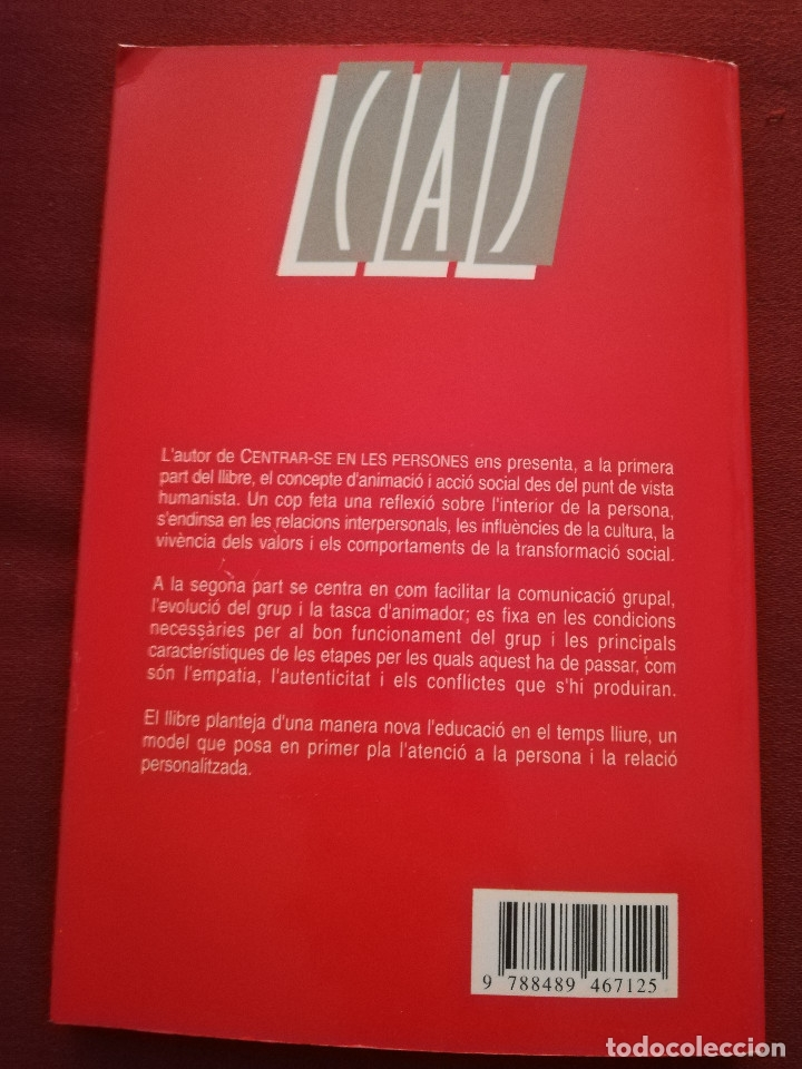 Libros de segunda mano: CENTRAR-SE EN LES PERSONES. UN MODEL TRANSFORMADOR D'INTERVENCIÓ SOCIOEDUCATIVA (B. BARCELÓ) - Foto 6 - 172891554