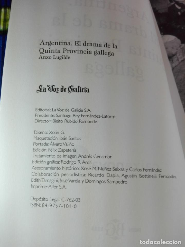 Libros de segunda mano: Libro-El drama de la quinta provincia gallega-Anxo Lugilde-La Voz de Galicia-Excelente estado-Ver fo - Foto 14 - 188644253