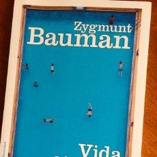 Libros de segunda mano: ZYGMUNT BAUMAN - VIDA LIQUIDA - PAIDÓS. Lote 173862979