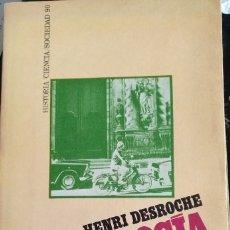 Libros de segunda mano: SOCIOLOGIA Y RELIGION. - DESROCHE, HENRI.. Lote 173751644