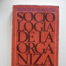 Libros de segunda mano: SOCIOLOGIA DE LA ORGANIZACION. Lote 174213003