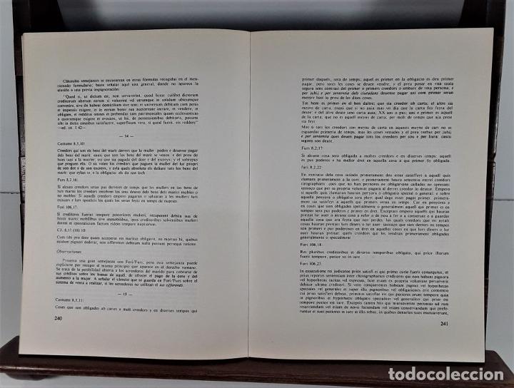 Libros de segunda mano: COSTUMS DE TORTOSA. C. ASSOCIAT DE TORTOSA. IMP. ESTUDIS. 1979. - Foto 4 - 175182949