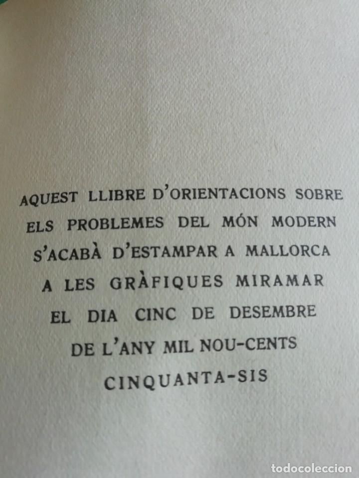 Libros de segunda mano: LA CRISI DE LEDAT MODERNA DE F.MASPONS I ANGLASELL 1956 - Foto 2 - 175329732