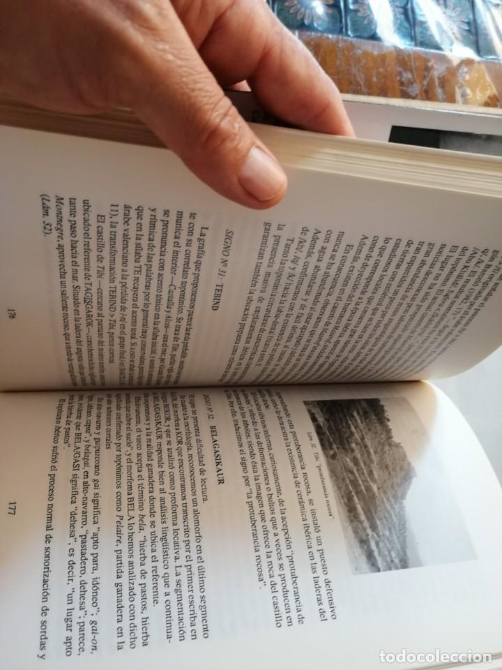 Libros de segunda mano: EL DESCIFRAMIENTO DE LA LENGUA IBÉRICA EN LA OFRENDA DE LOS PUEBLOS.JUAN L. ROMÁN DEL CERRO. - Foto 3 - 175460570