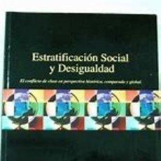 Libros de segunda mano: ESTRATIFICACION SOCIAL Y DESIGUALDAD. HAROLD R. KERBO +. Lote 175989795