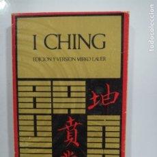Libros de segunda mano: I CHING EDICION Y VERSION MIRKO LAUER.. Lote 176543305