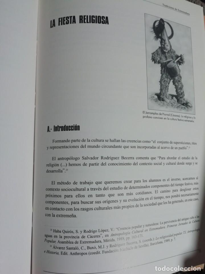 Libros de segunda mano: TRADICIONES DE EXTREMADURA. 1999 - Foto 4 - 178390462