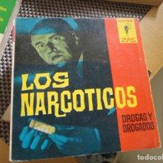 Libros de segunda mano: LOS NARCOTICOS. ROBERT COPPEL. Nº 68. ED. BRUGUERA. 1ª ED. 1963. ZAS MARABU.. Lote 179075191