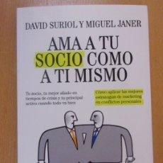 Libros de segunda mano: AMA A TU SOCIO COMO A TI MISMO /. Lote 179163215