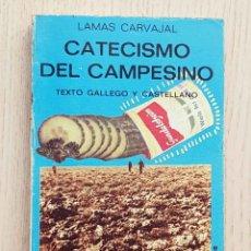 Libros de segunda mano: CATECISMO DEL CAMPESINO. (BILINGÜE GALLEGO-CASTELLANO) - CARVAJAL, LAMAS. Lote 179253292