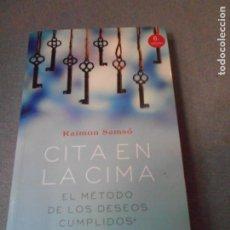 Libros de segunda mano: CITA EN LA CIMA. Lote 179313453