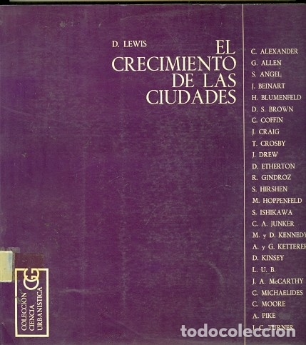 EL CRECIMIENTO DE LAS CIUDADES (Libros de Segunda Mano - Pensamiento - Sociología)
