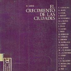 Libros de segunda mano: EL CRECIMIENTO DE LAS CIUDADES. Lote 180023845