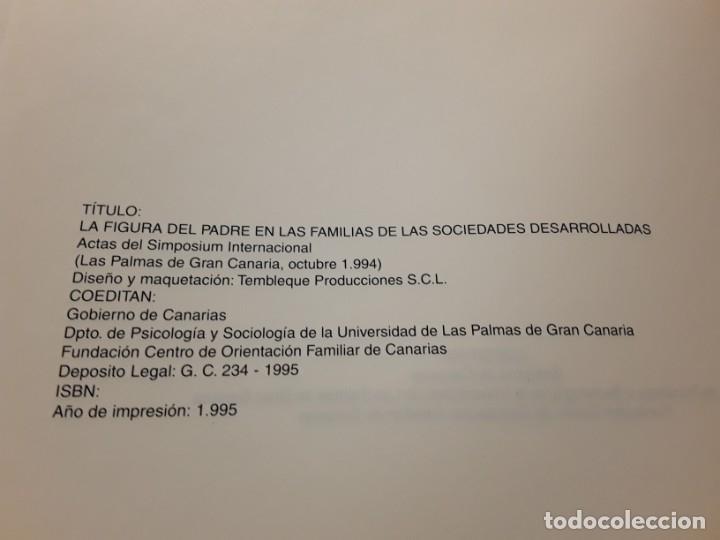 Libros de segunda mano: La figura del padre en las familias de las sociedades desarrolladas. Simposium 1994. Único en tc - Foto 2 - 180183777