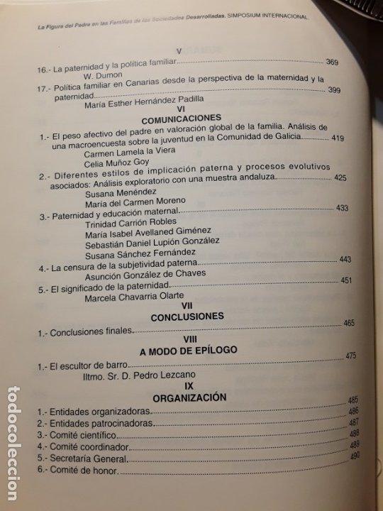 Libros de segunda mano: La figura del padre en las familias de las sociedades desarrolladas. Simposium 1994. Único en tc - Foto 4 - 180183777
