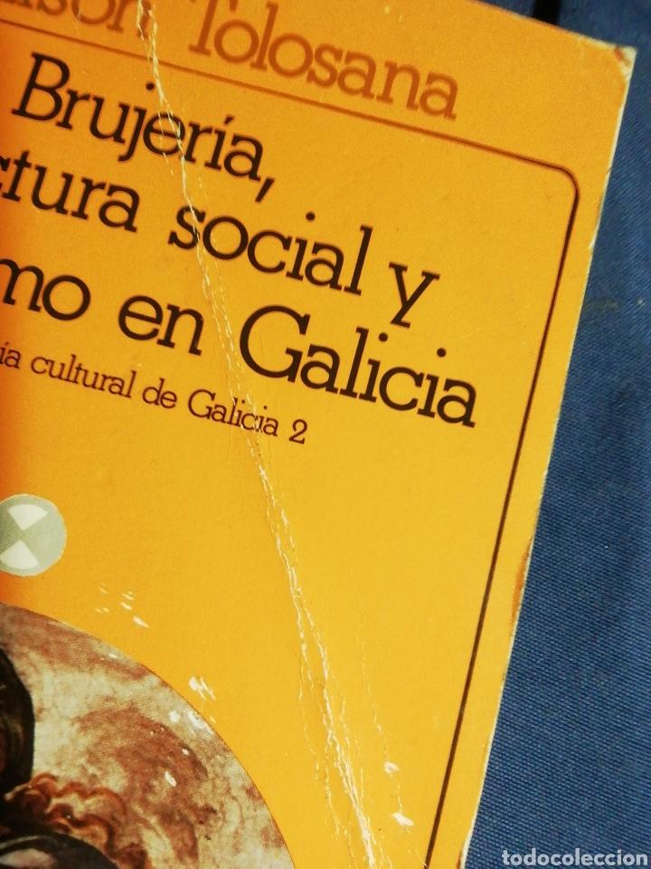 Libros de segunda mano: BRUJERÍA, ESTRUCTURA SOCIAL Y SIMBOLISMO EN GALICIA . C. LISON TOLOSANA - Foto 2 - 180510696