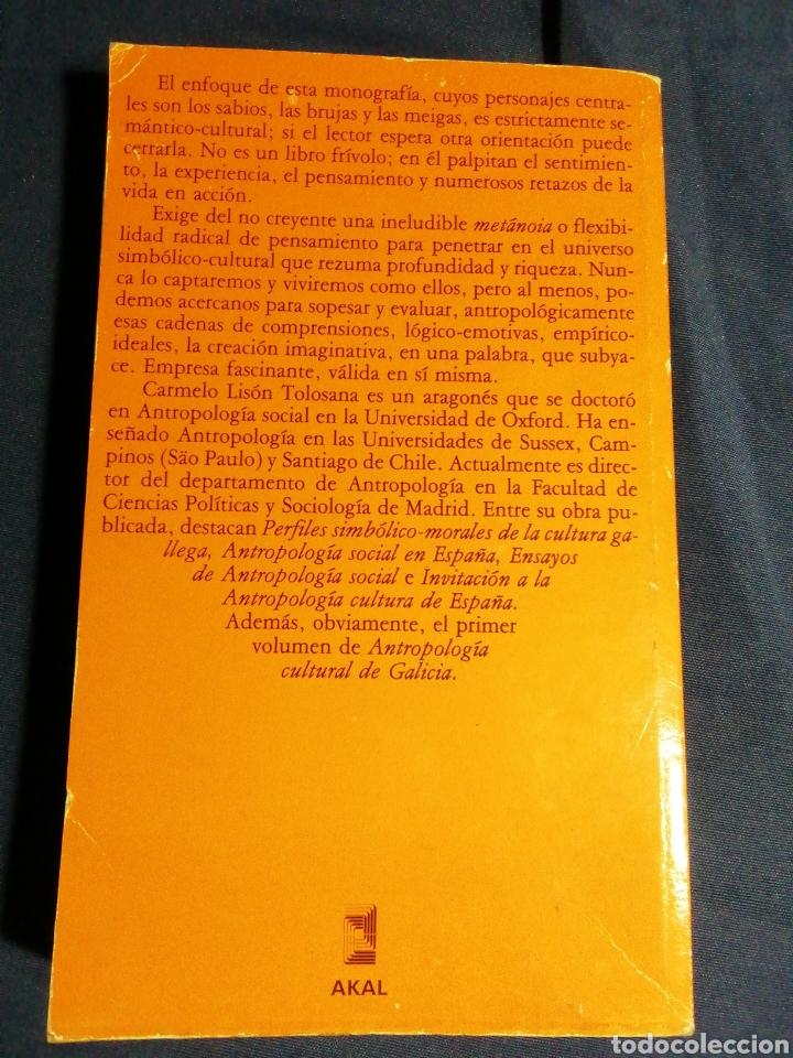Libros de segunda mano: BRUJERÍA, ESTRUCTURA SOCIAL Y SIMBOLISMO EN GALICIA . C. LISON TOLOSANA - Foto 3 - 180510696