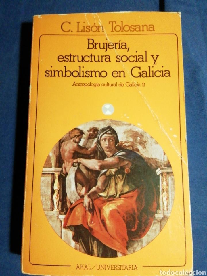BRUJERÍA, ESTRUCTURA SOCIAL Y SIMBOLISMO EN GALICIA . C. LISON TOLOSANA (Libros de Segunda Mano - Pensamiento - Sociología)