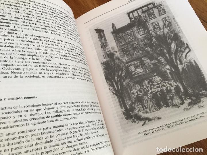 Libros de segunda mano: SOCIOLOGIA - ANTHONY GIDDENS - ALIANZA UNIVERSIDAD TEXTOS - Foto 3 - 181323557