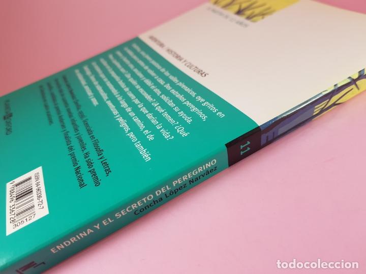 Libros de segunda mano: LIBRO-ENDRINA Y EL SECRETO DEL PERGRINO-CONCHA BLANCO NARVÁEZ-NAUTILUS-2006-PLANETA OXFORD - Foto 2 - 181573131
