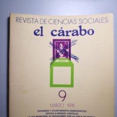 Libros de segunda mano: EL CÁRABO REVISTA DE CIENCIAS SOCIALES ENVÍO CERTIFICADO 5,99. Lote 182132463