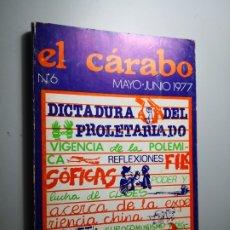 Libros de segunda mano: EL CÁRABO REVISTA DE CIENCIAS SOCIALES ENVÍO CERTIFICADO 5,99. Lote 182132538
