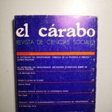 Libros de segunda mano: EL CÁRABO REVISTA DE CIENCIAS SOCIALES ENVÍO CERTIFICADO 5,99. Lote 182132557