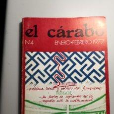 Libros de segunda mano: EL CÁRABO REVISTA DE CIENCIAS SOCIALES ENVÍO CERTIFICADO 5,99. Lote 182132578