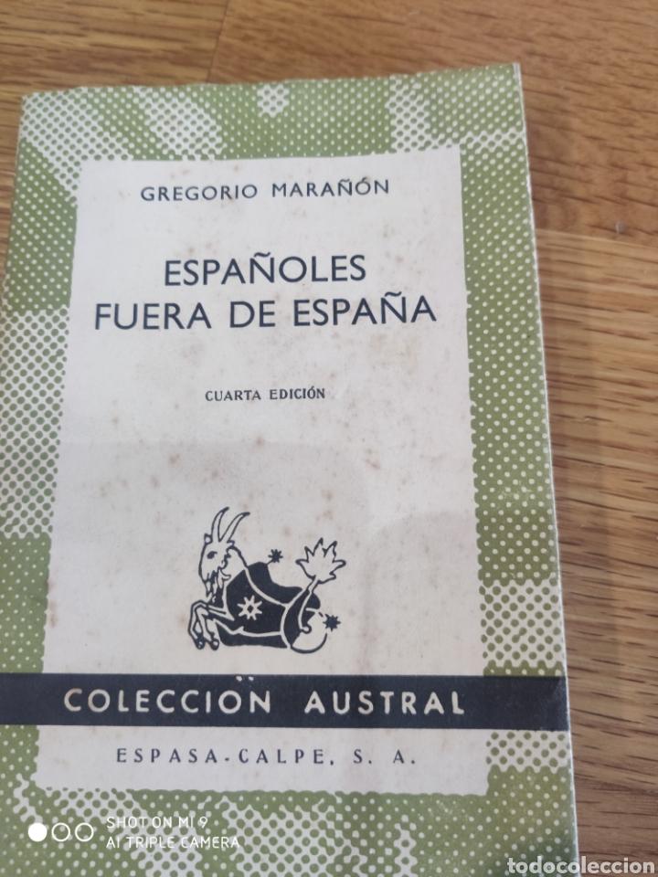 LOS ESPAÑOLES FUERA DE ESPAÑA (Libros de Segunda Mano - Pensamiento - Sociología)