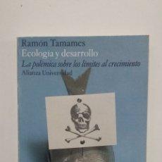 Libros de segunda mano: LA POLÉMICA SOBRE LOS LÍMITES AL CRECIMIENTO. - RAMÓN TAMAMES. ALIANZA UNIVERSIDAD Nº 198. TDK427. Lote 183373030
