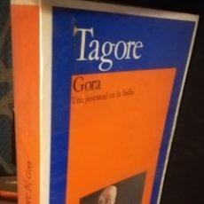 Libros de segunda mano: GORA UNA JUVENTUD EN LA INDIA R. TAGORE AKAL BOLSILLO 1983. Lote 183434215