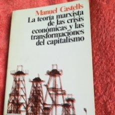 Libros de segunda mano: LA TEORÍA MARXISTA DE LAS CRISIS ECONÓMICAS Y LAS TRANSACCIONES DEL CAPITALISMO MANUEL CASTELLS. Lote 184613545