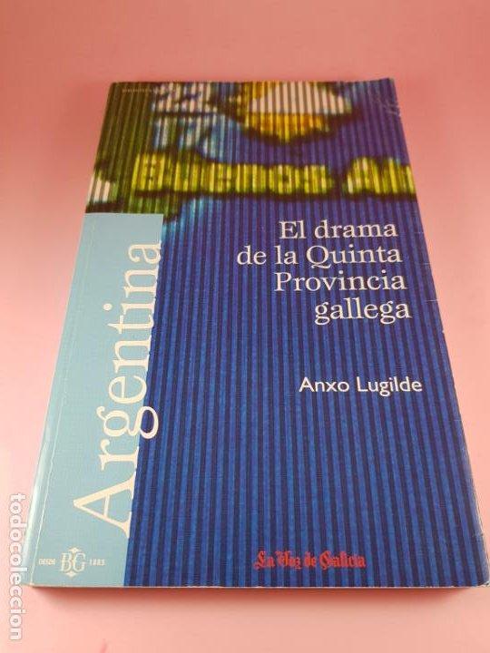 Libros de segunda mano: Libro-El drama de la quinta provincia gallega-Anxo Lugilde-La Voz de Galicia-Excelente estado-Ver fo - Foto 3 - 188644253