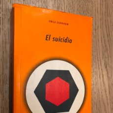 Libros de segunda mano: EL SUICIDIO - DURKHEIM, EMILE . Lote 190901058