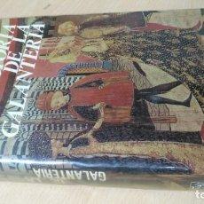 Libros de segunda mano: HISTORIA DE LA GALANTERIA - J L MARTINEZ QUIROGA - ENCICLOPEDIAS DE GASSO/ TXT 60 A. Lote 190981645