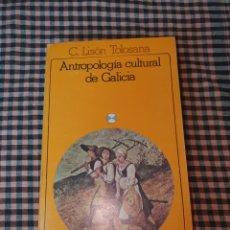 Libros de segunda mano: ANTROPOLOGÍA CULTURAL DE GALICIA, C. LISÓN TOLOSANA, AKAL EDITOR, 2ª EDICIÓN 1983.. Lote 191439657