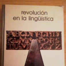 Libros de segunda mano: 2X1 LA REVOLUCIÓN EN LA LINGÜISTICA. JOSÉ MANUEL BLECUA. BIBLIOTECA SALVAT DE GRANDES TEMAS, 1973.. Lote 191596206