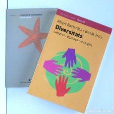 Libros de segunda mano: ENTRENDRE LA BIODIVERSITAT – DIVERSITATS LLENGÜES ESPÈCIES I ECOLOGIES – LOT 2 LLIBRES. Lote 193368550